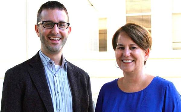 Co-PIs Isaac Weiner and Amy DeRogatis